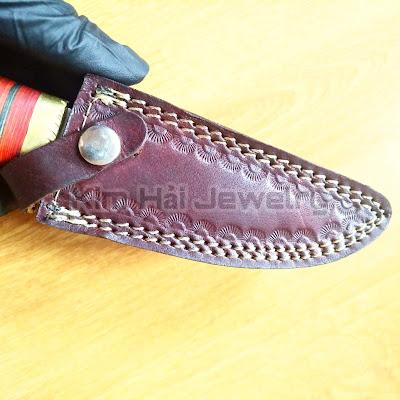 dao đi săn truyền thống được làm hoàn toàn thủ công