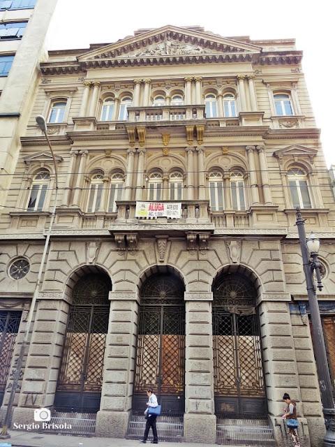 Antigo Edifício da Caixa Mútua de Pensões Vitalícias - Rua Venceslau Brás - Centro - São Paulo