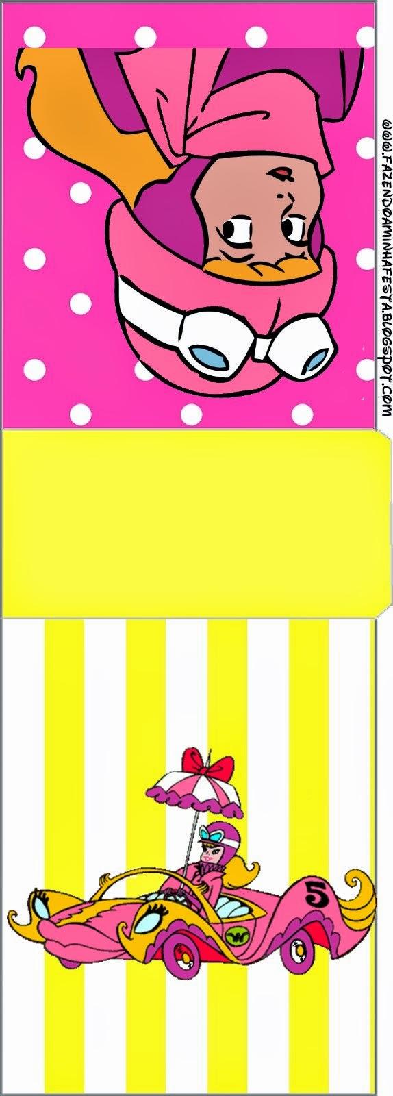 Etiqueta Tic Tac para imprimir gratis de  Penelope Glamour Retro.