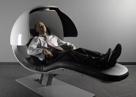 SOMETHING AMAZING: Innovative Sleeping Pod for Power Naps