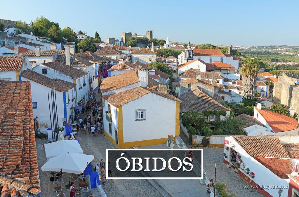 Óbidos, una de las ciudades más bonitas de Portugal