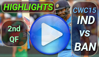 IND vs BAN 2nd QF Match