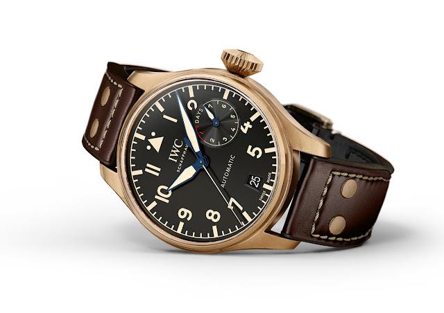 IWC - Big Pilot's Watches in Titanium and Bronze