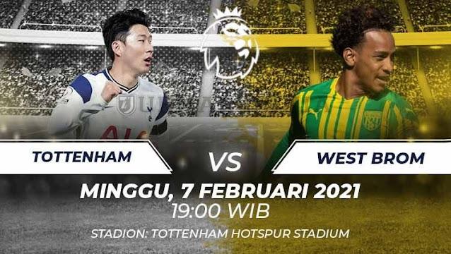 Prediksi Tottenham Hotspur Vs West Bromwich Albion