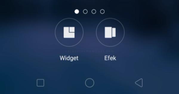 Widget dan Efek Slide OPPO