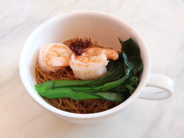 King Prawn in XO Sauce with Tossed Noodles