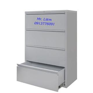 Tủ file treo 4 ngăn kéo Godrej, tủ sắt văn phòng
