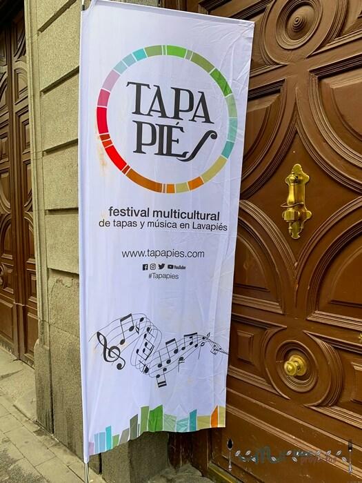 cartel anunciador tapapies 2019