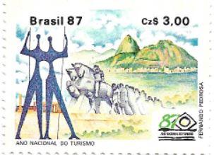 Selo Ano Internacional do Turismo, centro-oeste, sudeste e sul