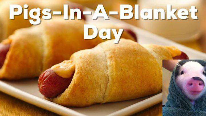 National Pigs in a Blanket Day Wishes For Facebook