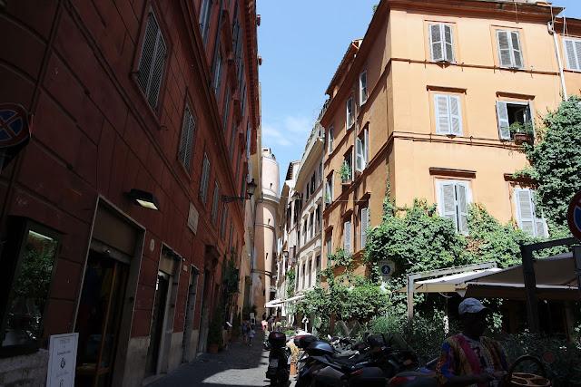 Rome, rue, Roma, Italie,