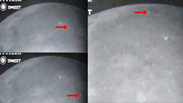 Sharjah Observatory captured a series of rare impacts on the lunar surface  Impacts-moon-surface