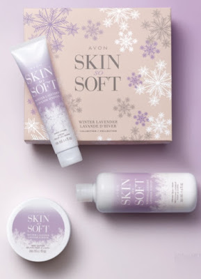 Great Gifting - Avon Skin So Soft Winter Lavender 3-Piece Collection