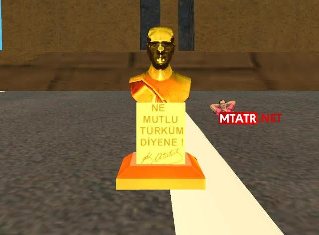 MTASA Atatürk büstü