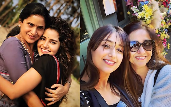 Mothers Day Special , Tollywood Movie Stars With Their Moms 👈