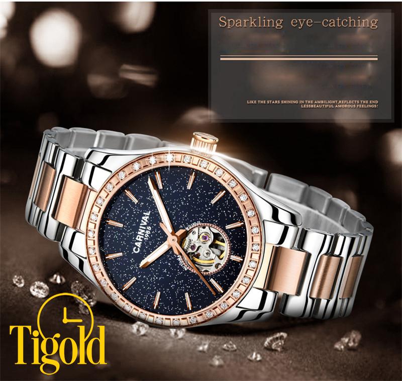 đồng hồ nữ carnival thời trang