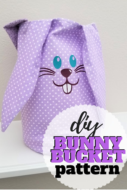 Download the free Easter basket pattern for both duck and bunny lovers.  Sew it up for your little one this Easter.
