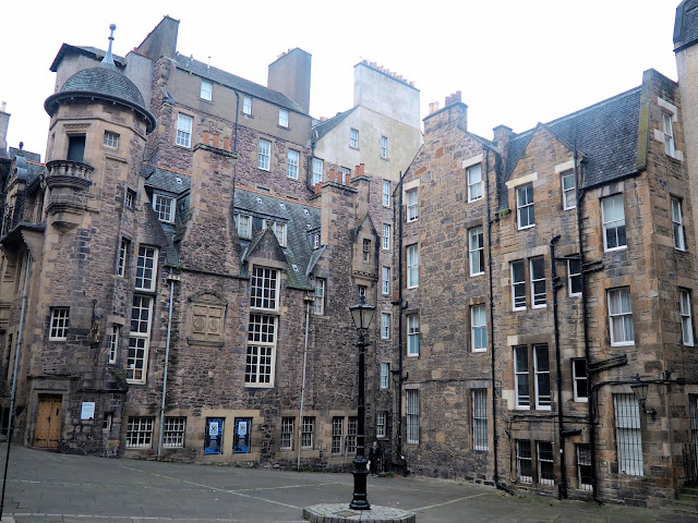 Writer's Museum, Makar's Court, Edinburgh