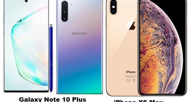 Samsung Galaxy Note 10 Plus Vs iPhone XS Max Specs Comparison
