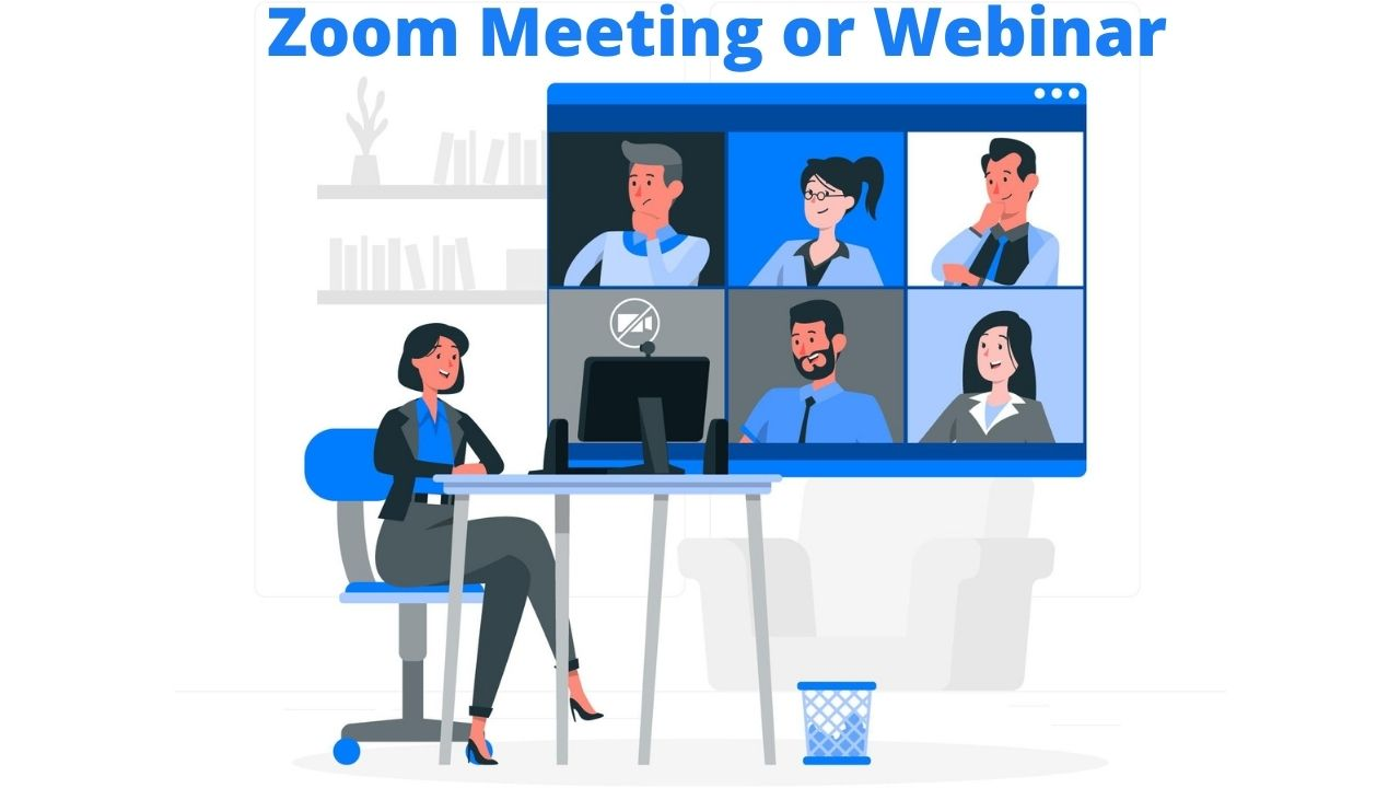 Difference Between Zoom Meeting and Webinar