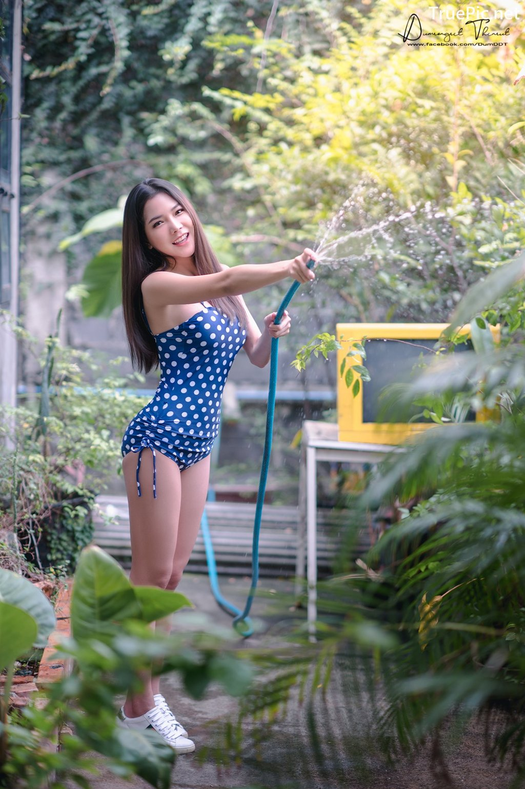 Image-Hot-Girl-Thailand-Phitchamol-Srijantanet-Sexy-Beauty-With-Sport-Bra-and-Monokini-TruePic.net- Picture-7