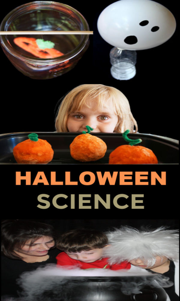 "25+ ""spooky"" science experiments for kids that are perfect for Halloween. #halloween #halloweenscienceexperiments #spookyscienceforkids #scienceexperimentskids #growingajeweledrose"