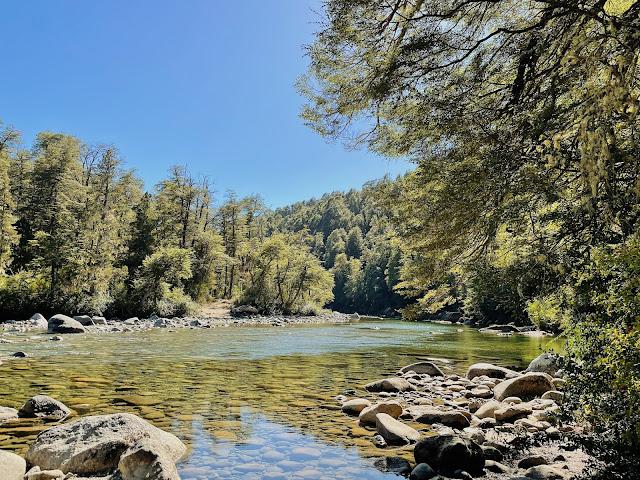 Itinerario 2 días en el El bolson, rio Azul camino al Paraiso - como llegar al paraiso
