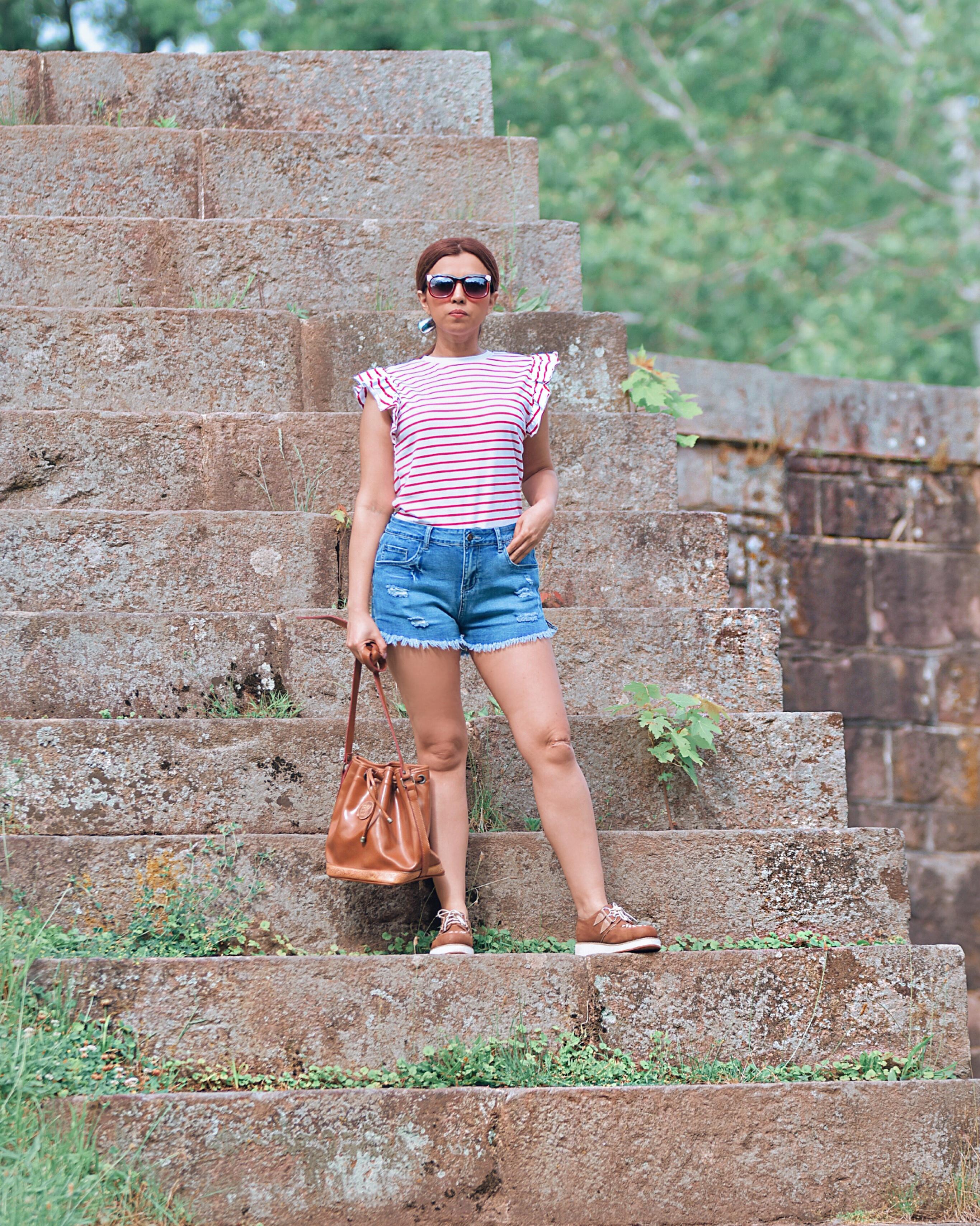 Un 4 de julio muy diferente-mariestilo-como crear outfits desde cero-outfit para el 4 de julio-4 of july weekend-4 of july outfit-fashion blogger-streetwear-travel-places to go-