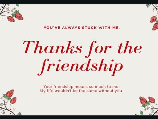 Friendship Till Jannah
