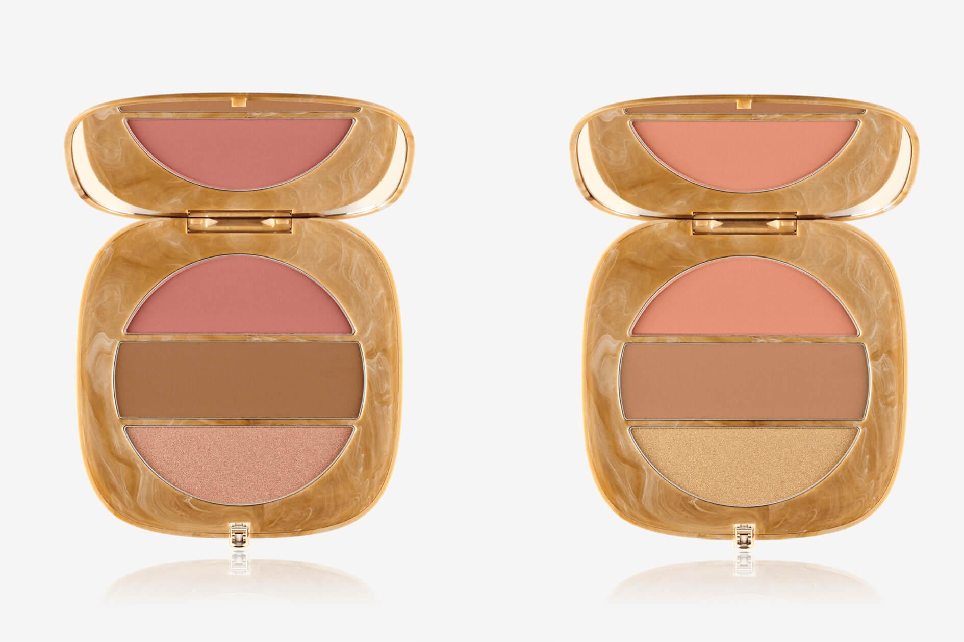 OMega Three Powder Blush Bronze Highlight Palette