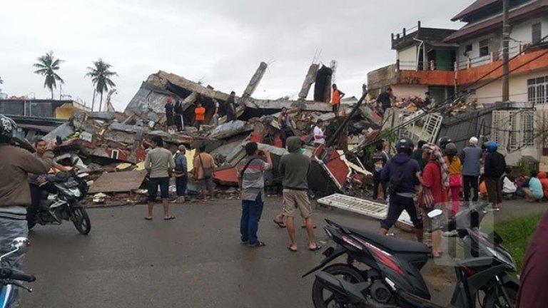 Hasbunallah, Majene Dilanda Gempa 6,2 M, Banyak Bangunan Hancur