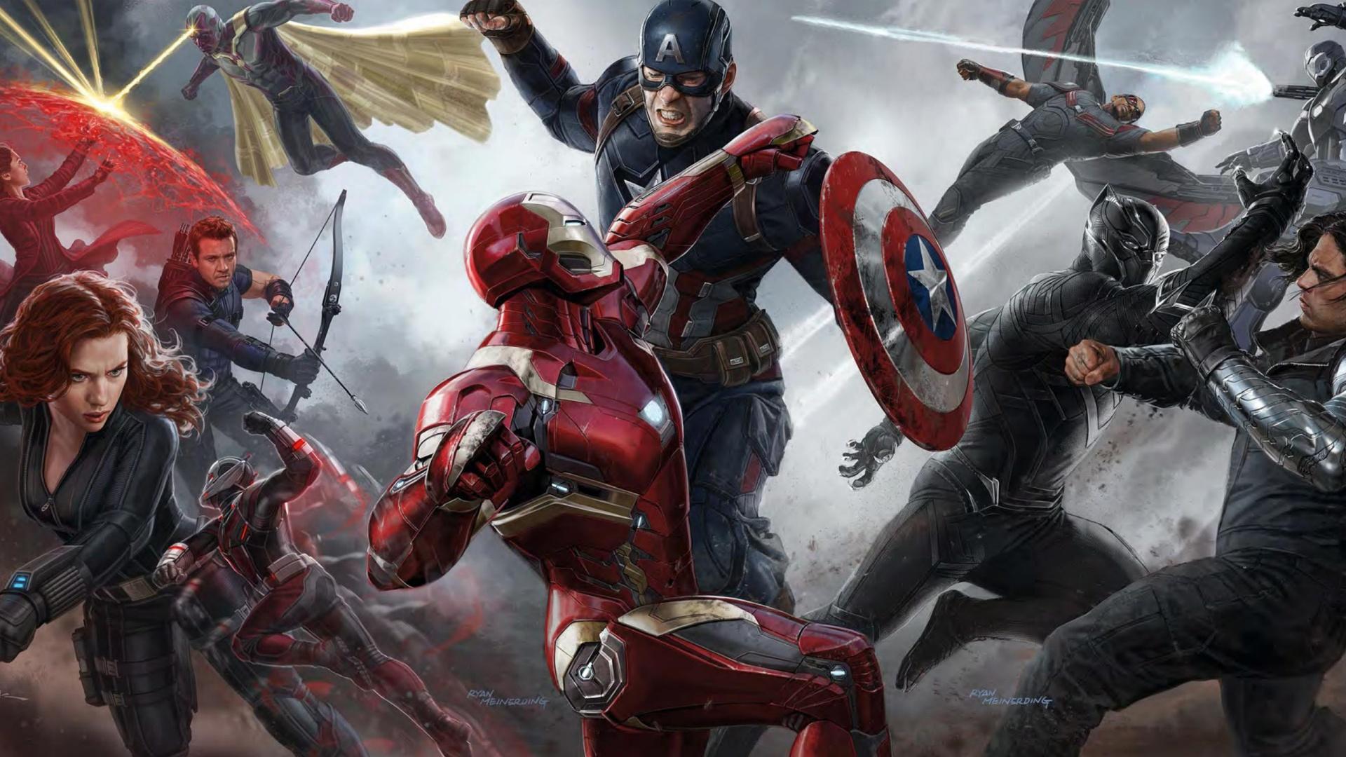 Filme Capitao America Guerra Civil Hd 1080p