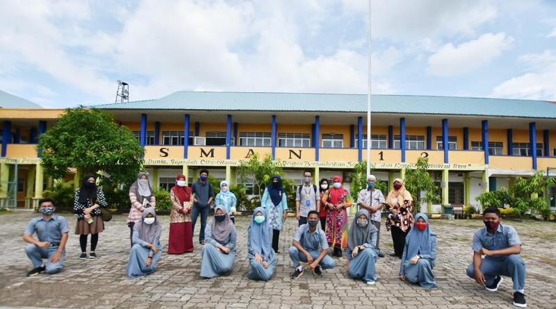 Sekolah Tangguh Terbentuk di SMAN 12 Batam, Strategi Ampuh Lawan Covid-19 di Lingkungan Sekolah