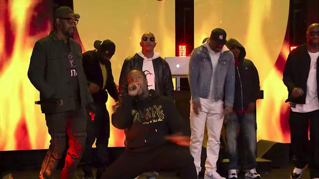 Filho do Ol 'Dirty Bastard, Young Dirty Bastard se apresenta com Wu-Tang Clan em programa de TV