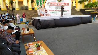 1500 Santri Meriahkan Hari Santri Diprakarsai Organisasi Internasional Alumni Al Azhar
