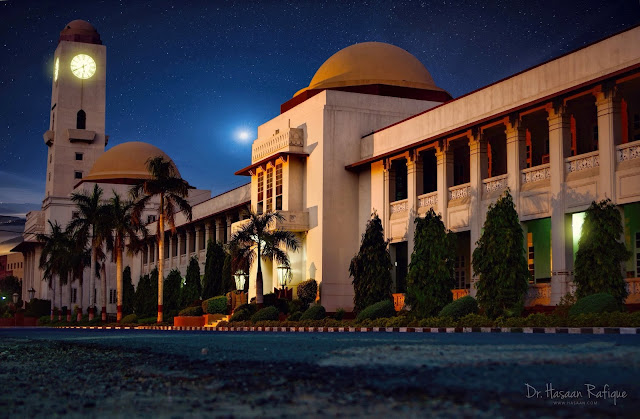 Photo: Night view of Nishtar Medical University