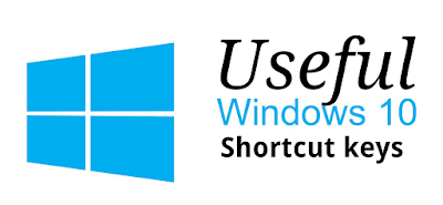 Useful Shortcut Keys for Windows 10