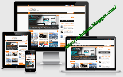 Download Rifqy Premium Responsive Blogger Template Gratis