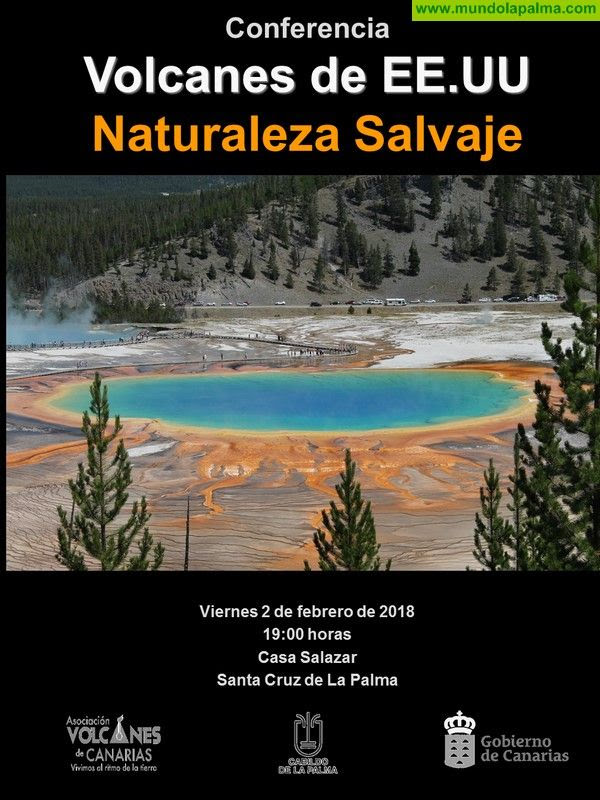 La Casa Salazar acoge una charla sobre los principales volcanes de Estados Unidos