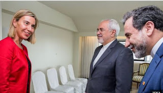 إنتهاء إجتماع وزراء الخارجية مع اقتراب موعد العقوبات الأمريكية ضد إيران