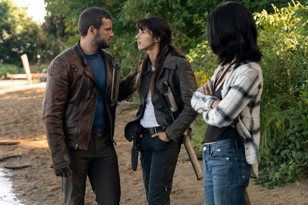 Hope, Felix y Huck arreglan sus problemas en el episodio 1x05 de The Walking Dead: World Beyond