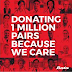Bata donates 1 million pairs of shoes to health care workers, volunteers and their families.