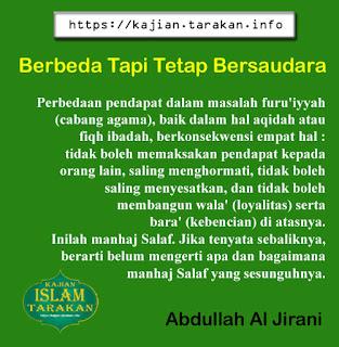 Berbeda Tapi Tetap Bersaudara - Qoutes - Kajian Islam Tarakan