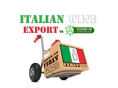 export vino italiano covid