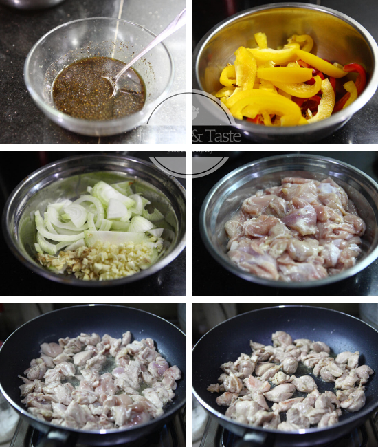 Resep Ayam Lada Hitam JTT