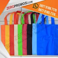 tas spunbond, Tas daur ulang, tas ramah lingkungan, tas seminar go green, Produksi Tas Goddy Bag, Souvenir Tas Furing dengan harga termurah