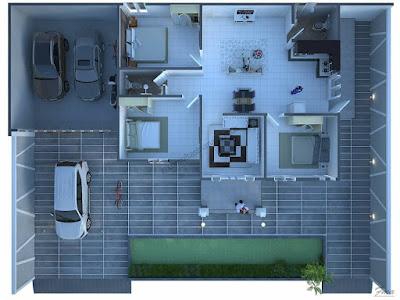 desain rumah minimalis modern 2021