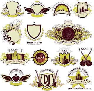 vetor grátis para baixar vetores livres, escudos, brasão, brasões, estampas