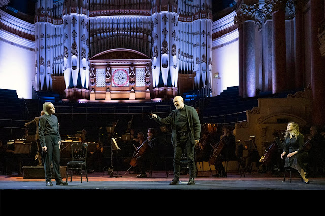 Beethoven: Fidelio - Rachel Nicholls, Brindley Sherratt, Fflur Wyn - Opera North 2020 (Photo Richard H Smith)