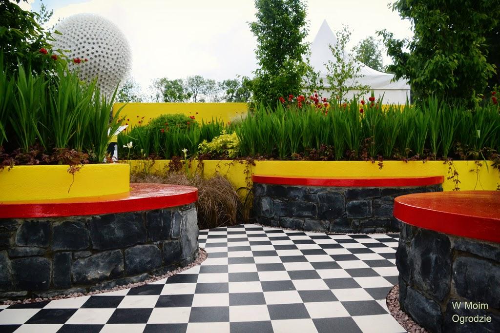 ogród nowoczesny współczesny